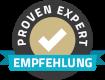 Proven Expert badge